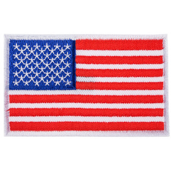 American Flag Iron-On Applique
